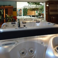 Whirpool in de showroom